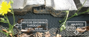 steel-mesh gutter guard